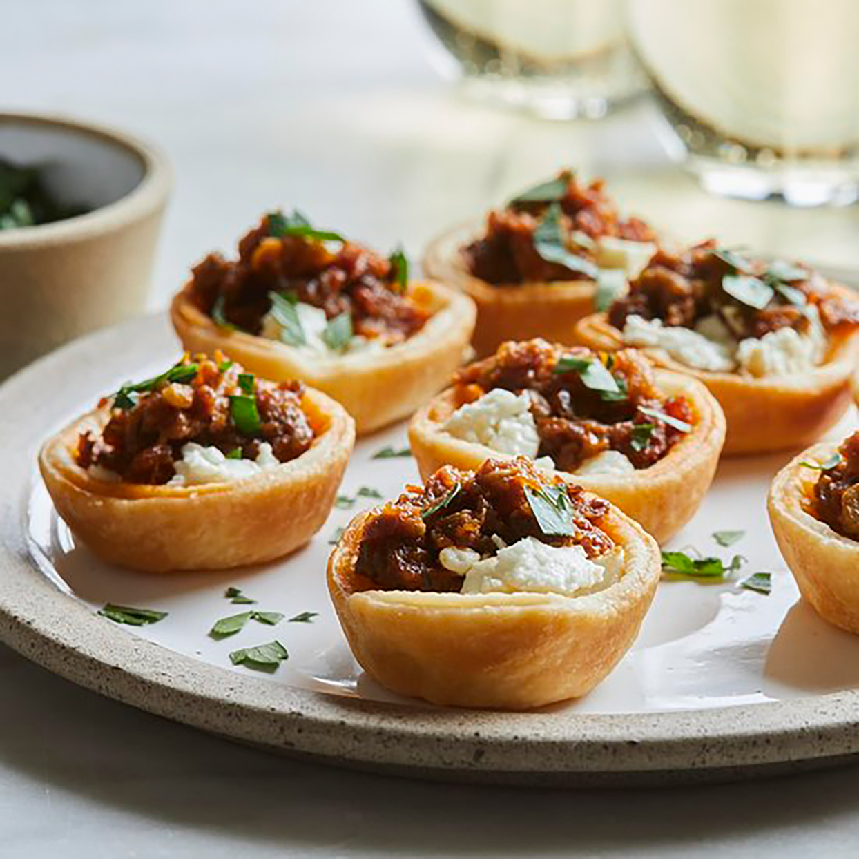 3-Ingredient Goat Cheese & Sun-Dried Tomato Bites