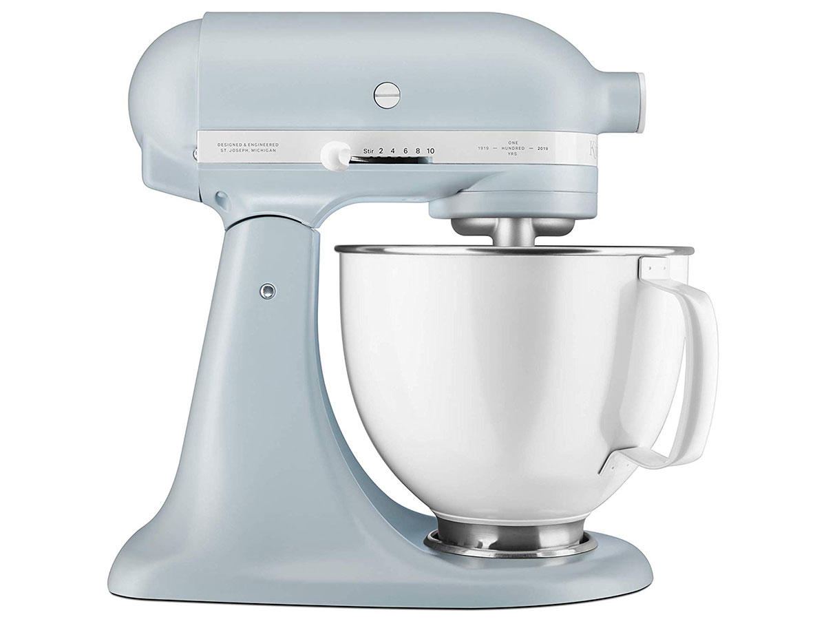 KitchenAid Stand Mixer in Misty Blue color