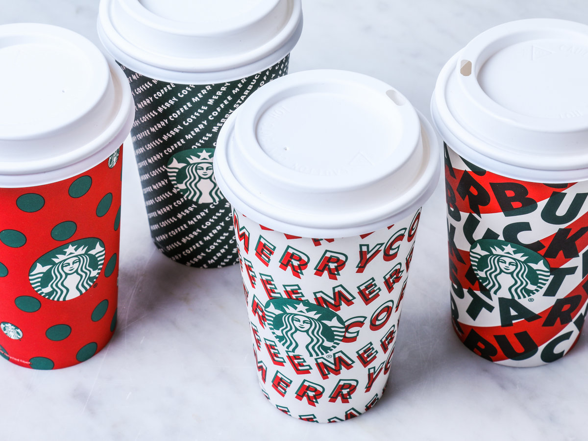 Starbucks Holiday Cups - 2019