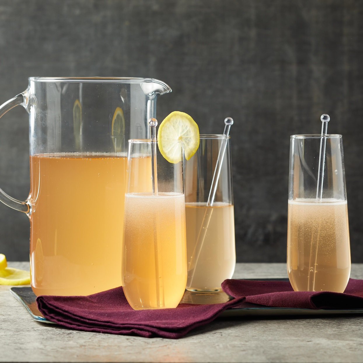 Prosecco Kombucha Cocktail
