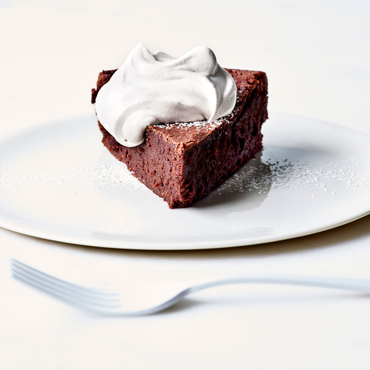 Flourless Chocolate Cake with Chile