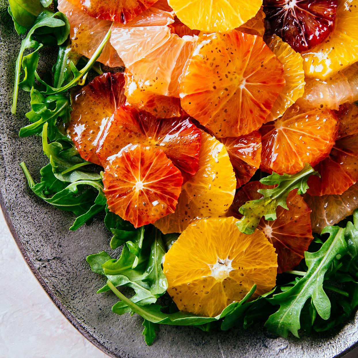 Citrus Salad with Chia-Celery Seed Dressing