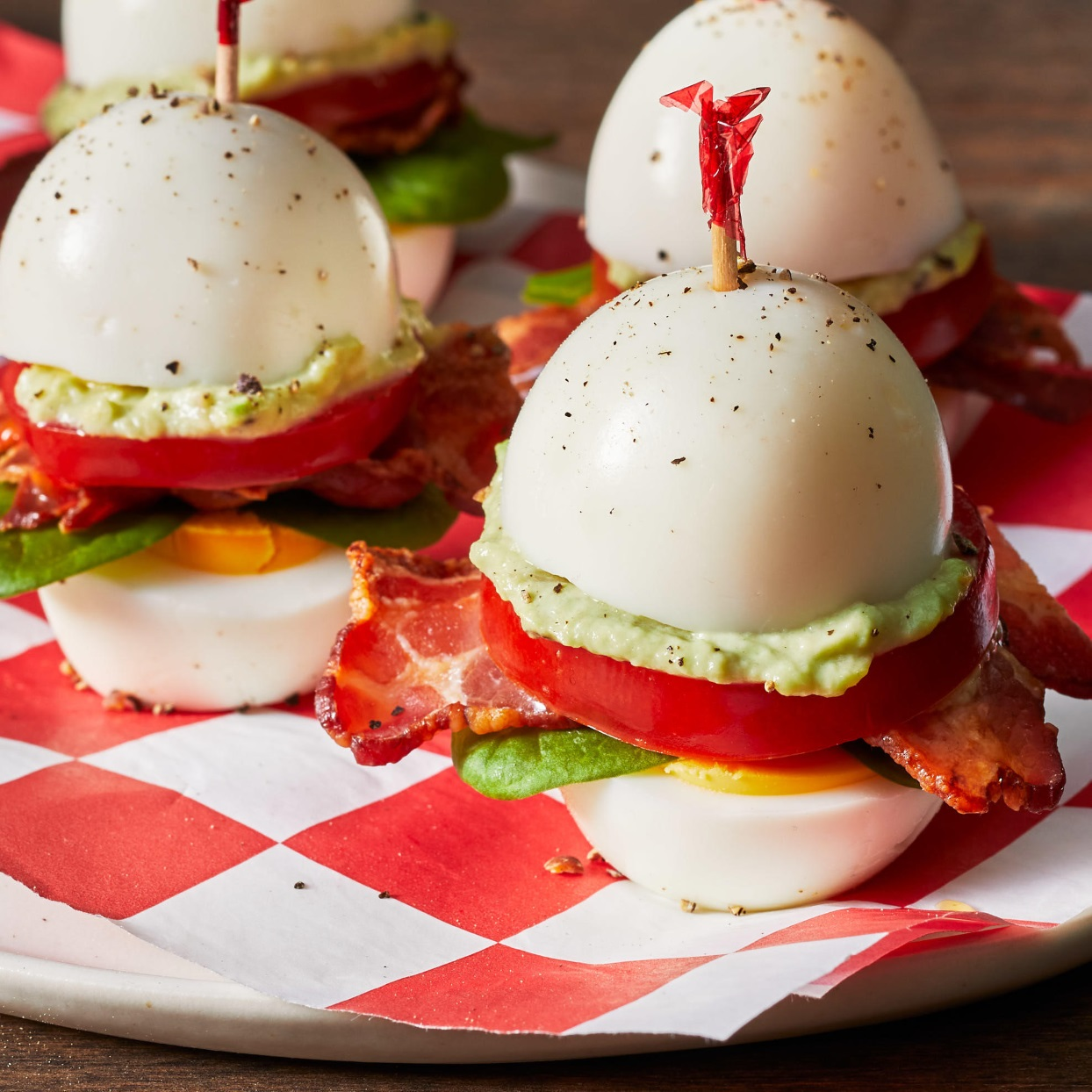 Hard-Boiled Egg BLTs