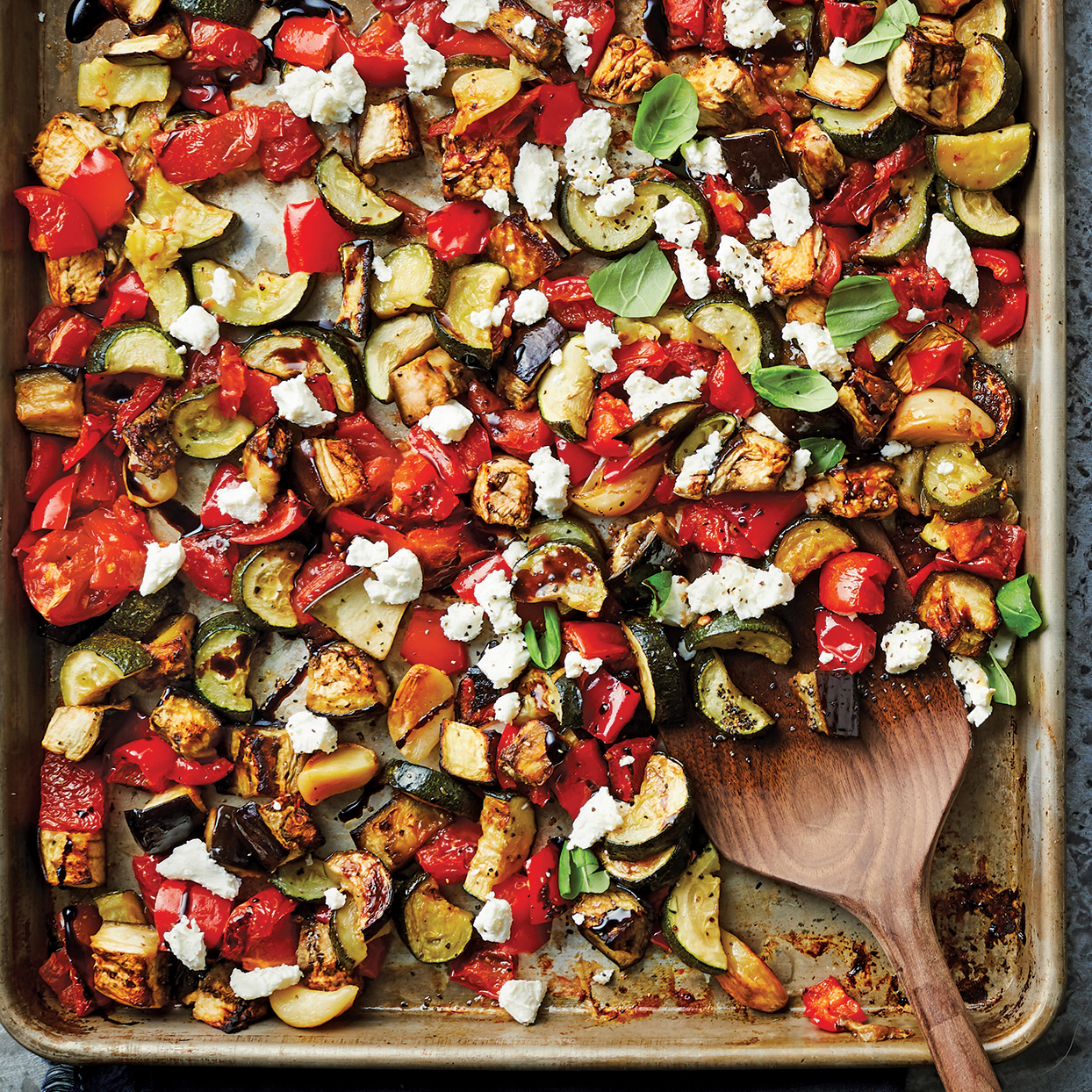 Sheet-Pan Ratatouille