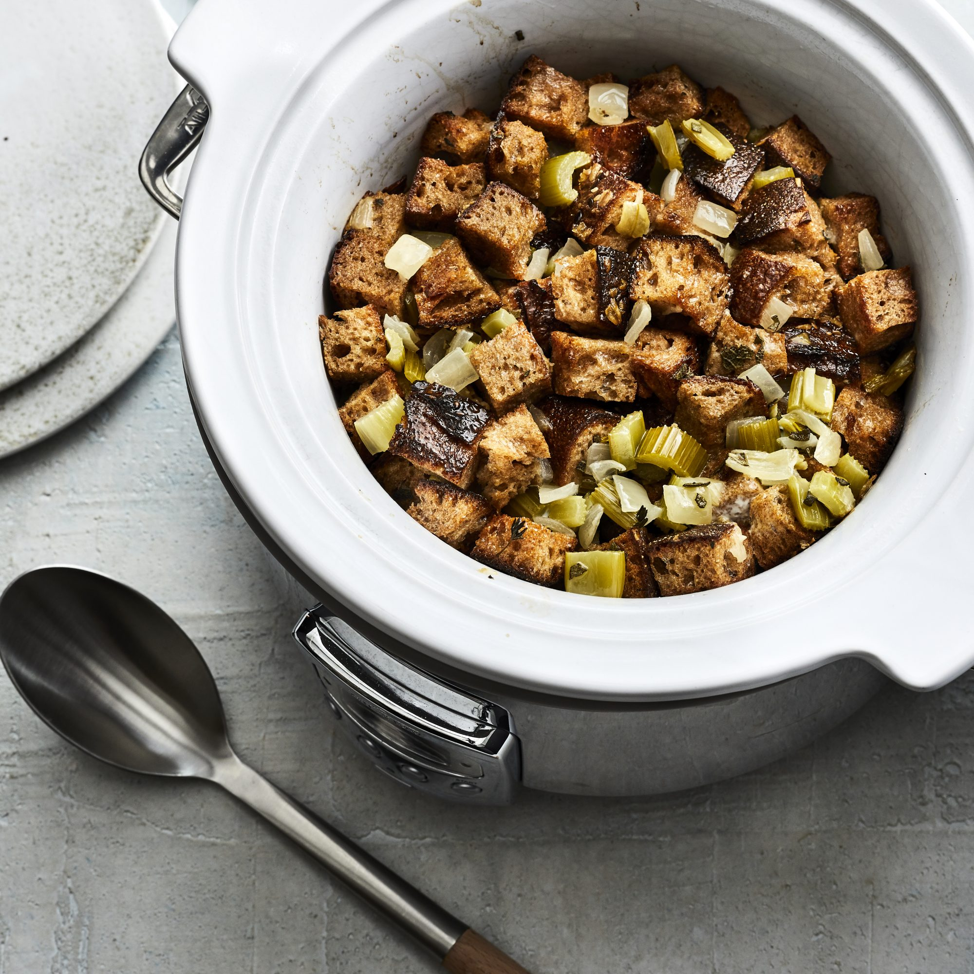 Classic Slow-Cooker Stuffing