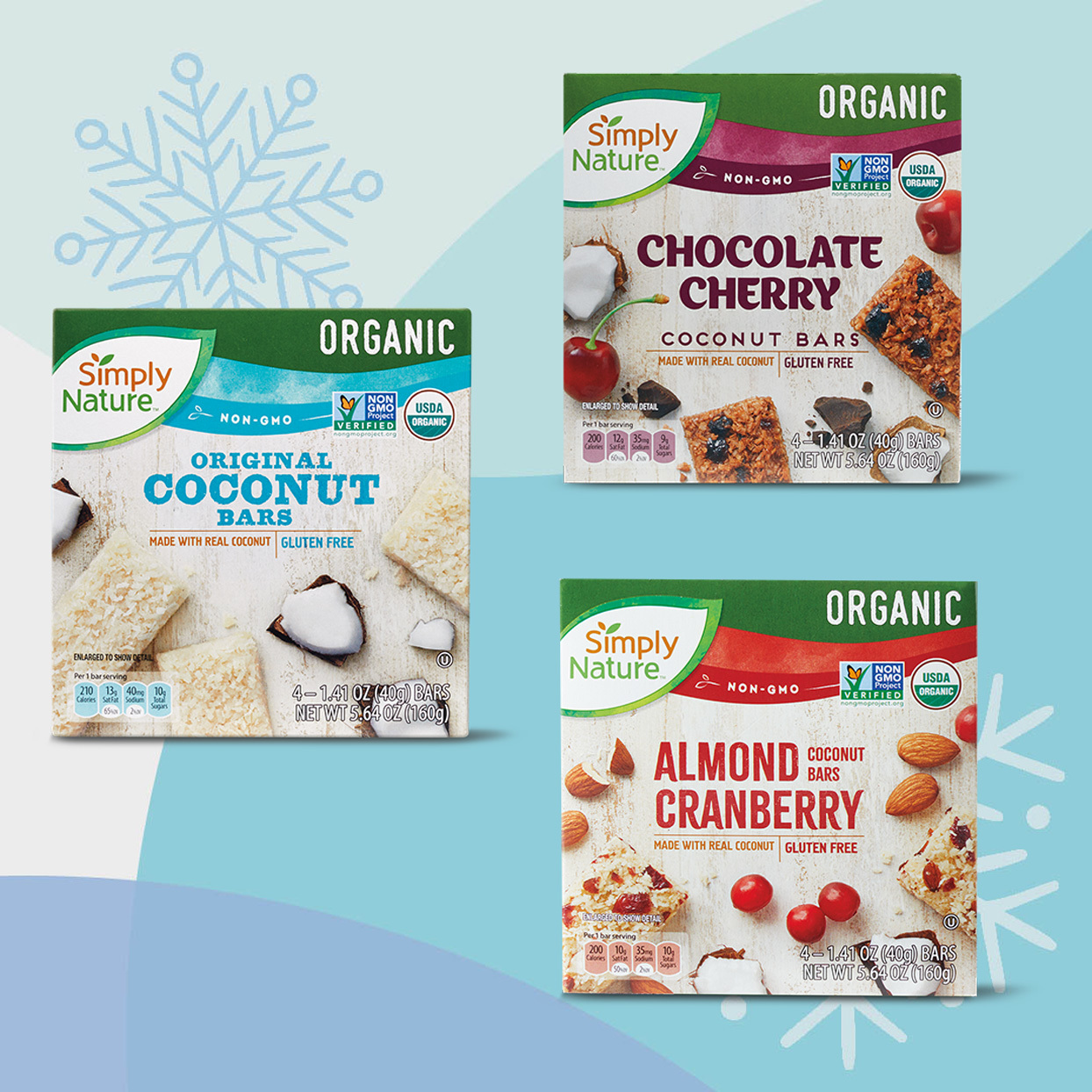 Simply Nature Organic Coconut Bars