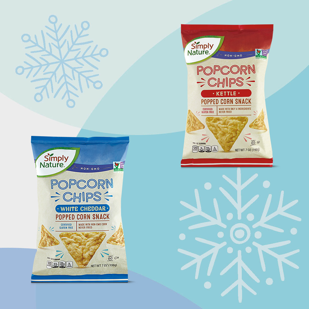 Simply Nature Popcorn Chips
