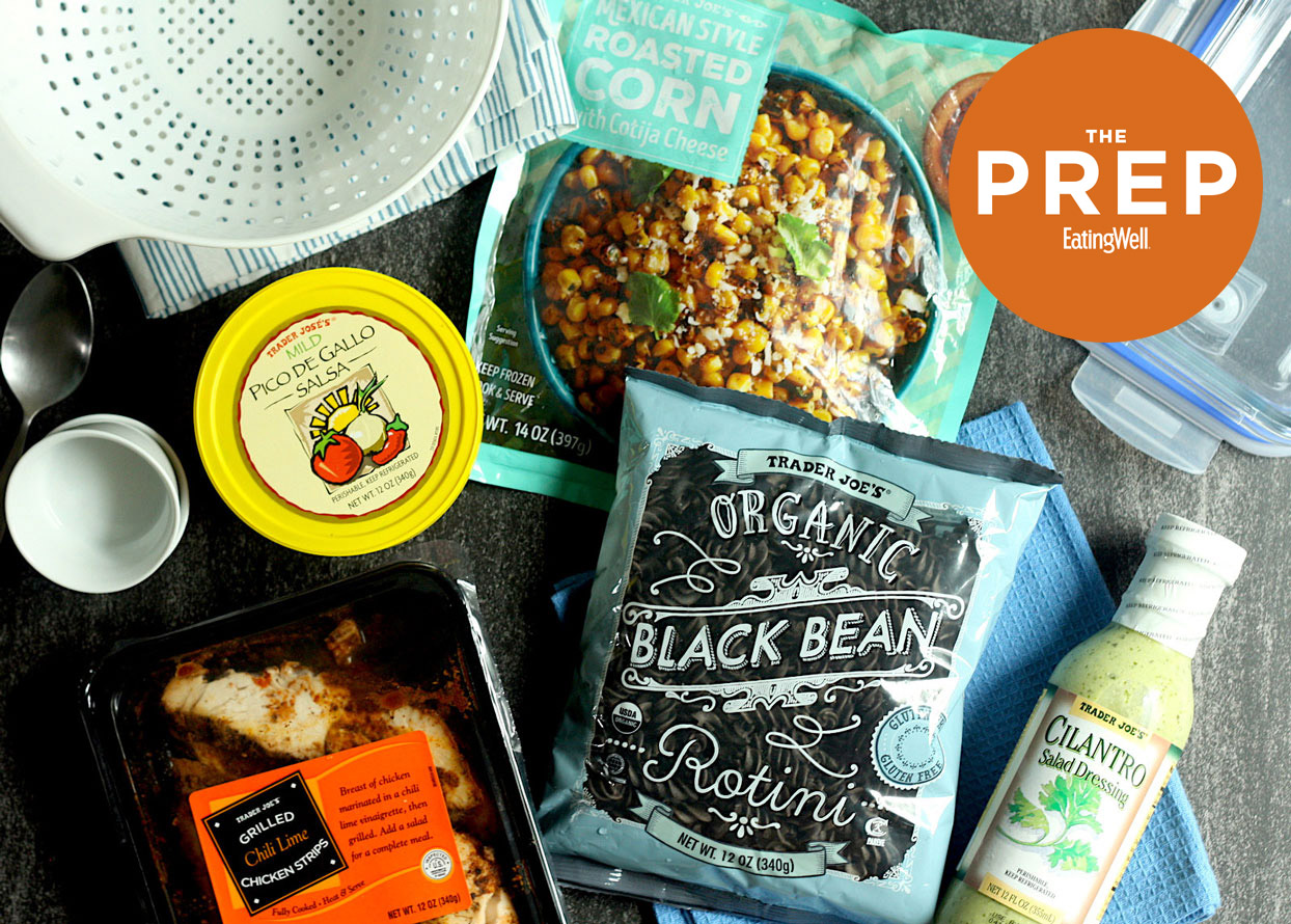 Trader Joe's High Fiber lunch ingredients - ThePrep
