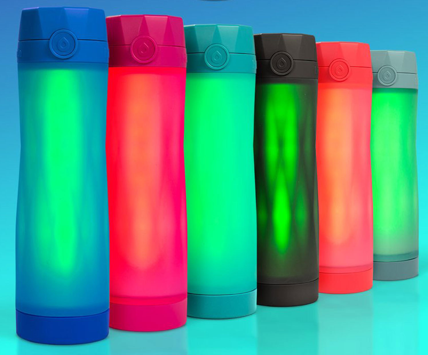 This Water Bottle Glows to Remind You to Drink More Water