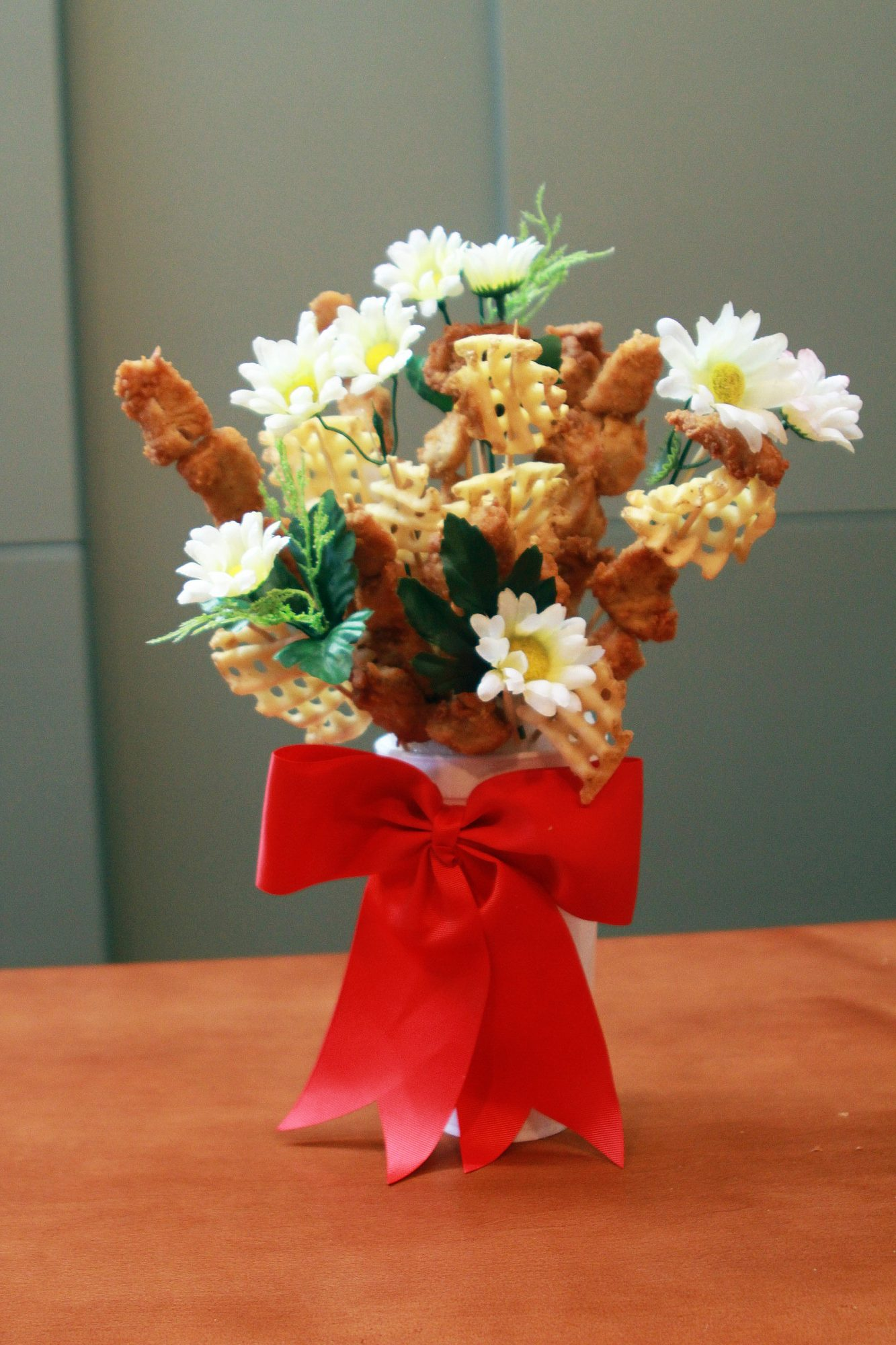 This Chicken Nugget Bouquet Is the Only Way to Say 'I Love You' This Valentine's Day