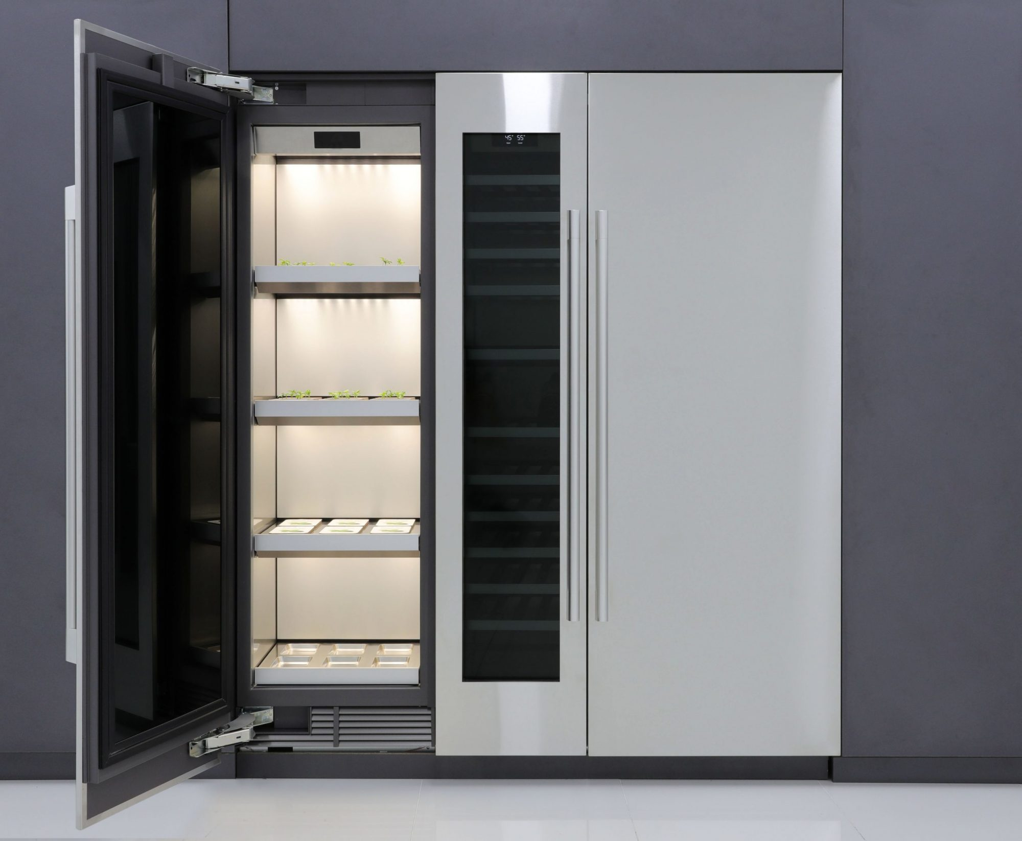 LG's New Refrigerator Will Grow Your Leafy Greens and Herbs for You