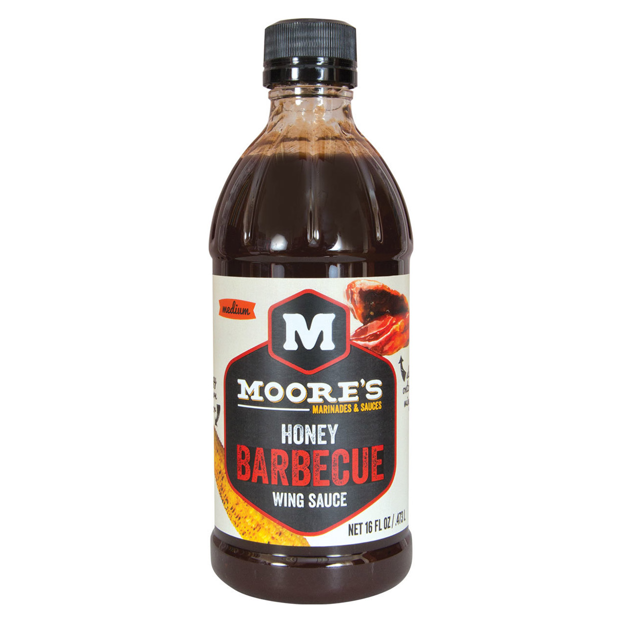 Moore's Honey Barbecue Wing Sauce