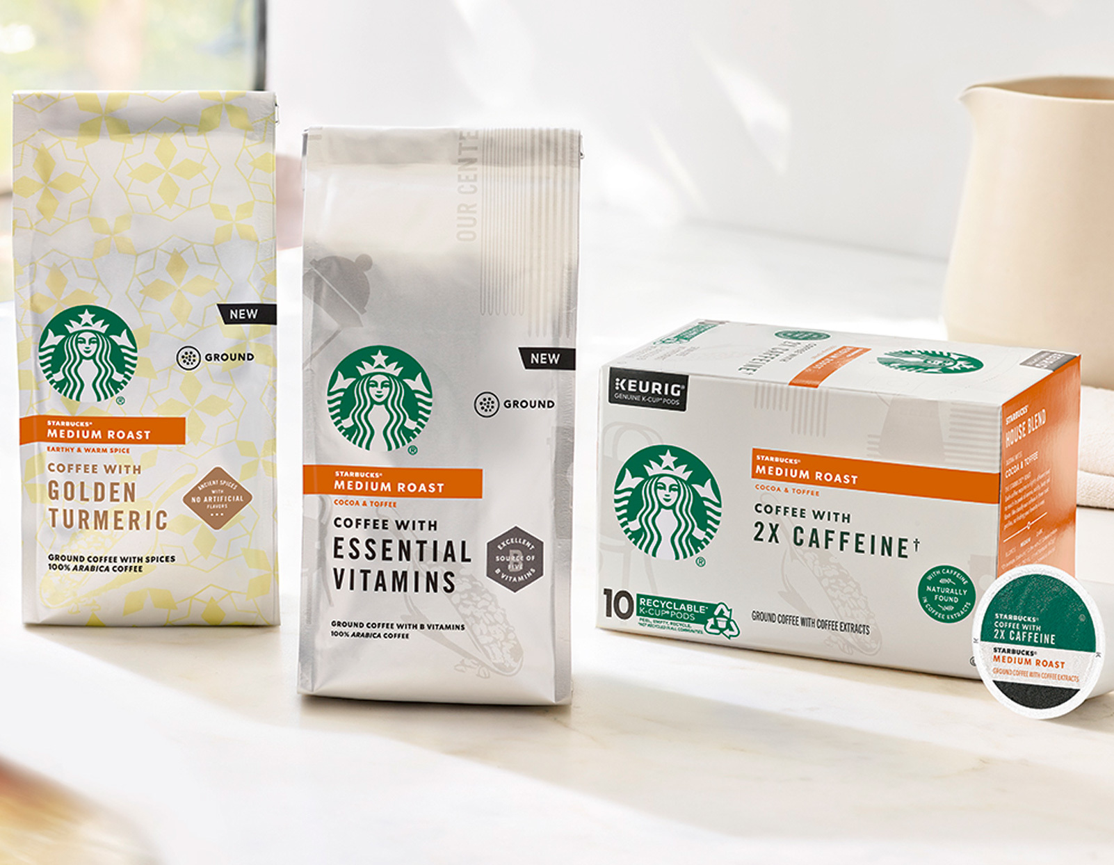 Starbucks Announces They Will Be Selling Fortified Coffee with Vitamins, Turmeric and Double Caffeine