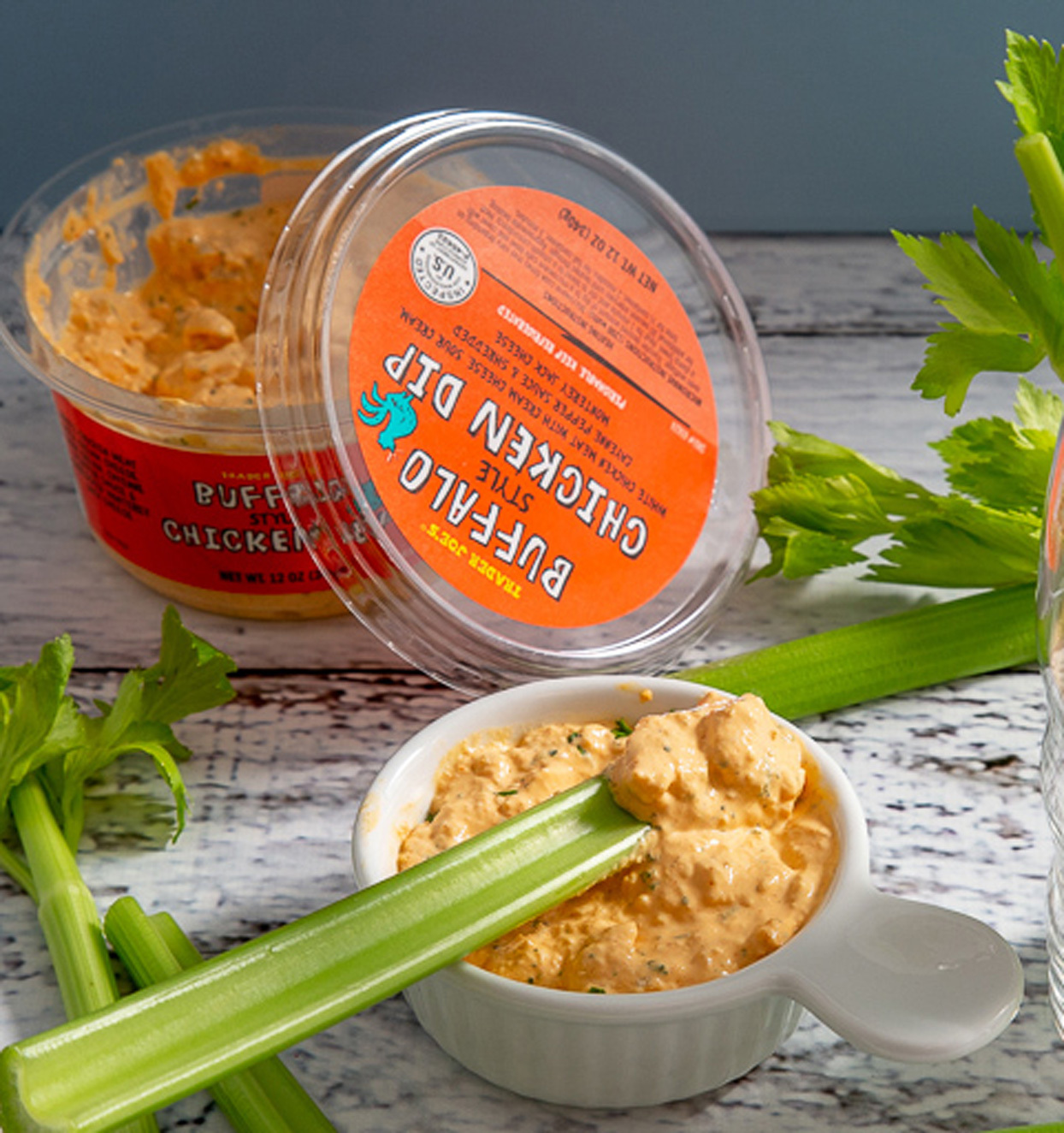 trader joe's buffalo style chicken dip
