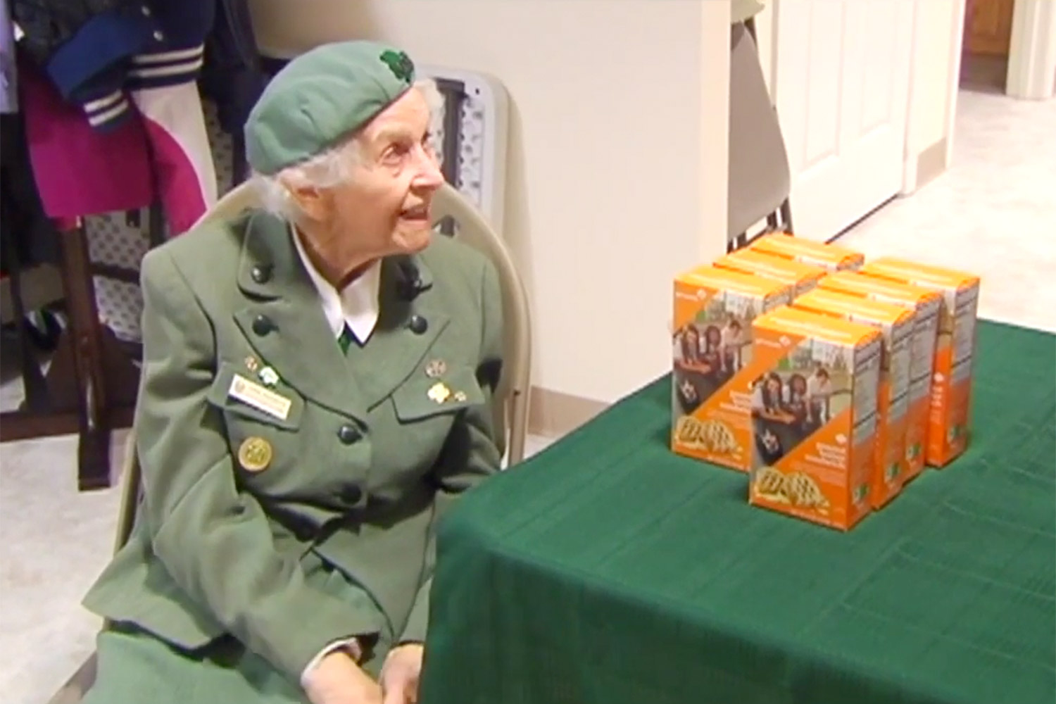 98 year-old girl scout