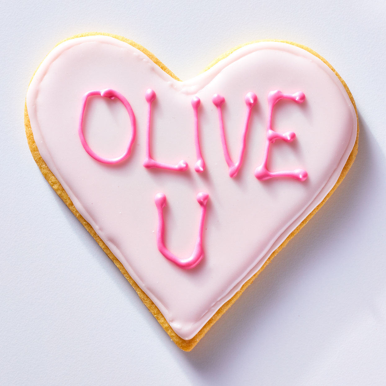 Olive U Conversation Heart Cookie