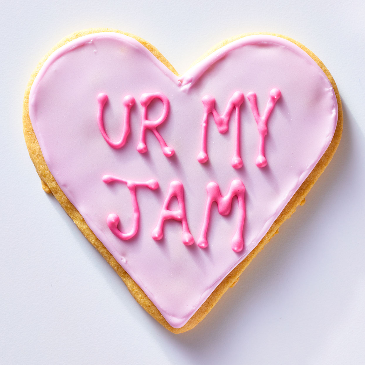 Ur My Jam Conversation Heart Cookie