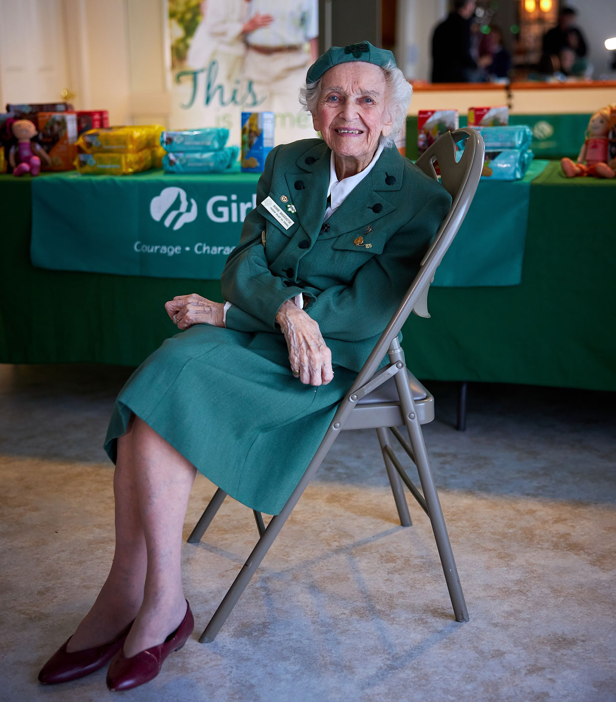 Meet the 98-Year-Old Girl Scout Trying Her Best to Sell as Many Cookies as She Can