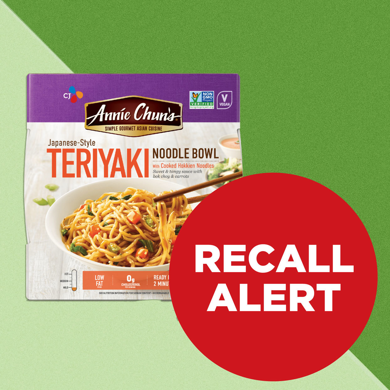 Annie Chun's Noodle Bowls recalled