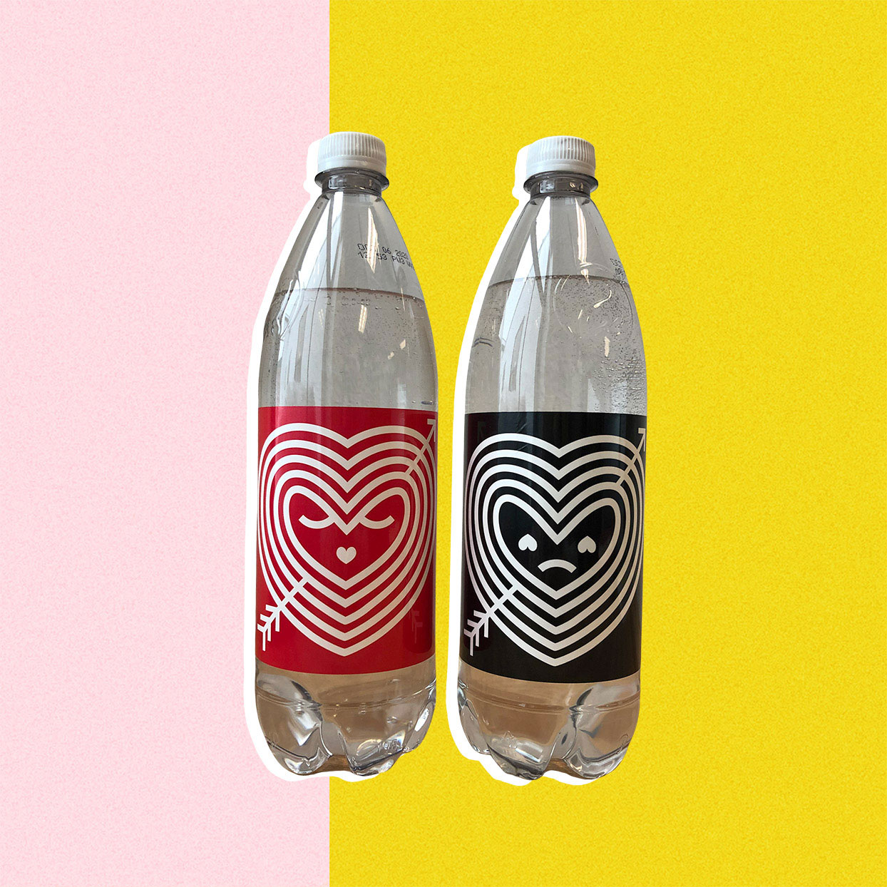 polar seltzer bottles for valentines day