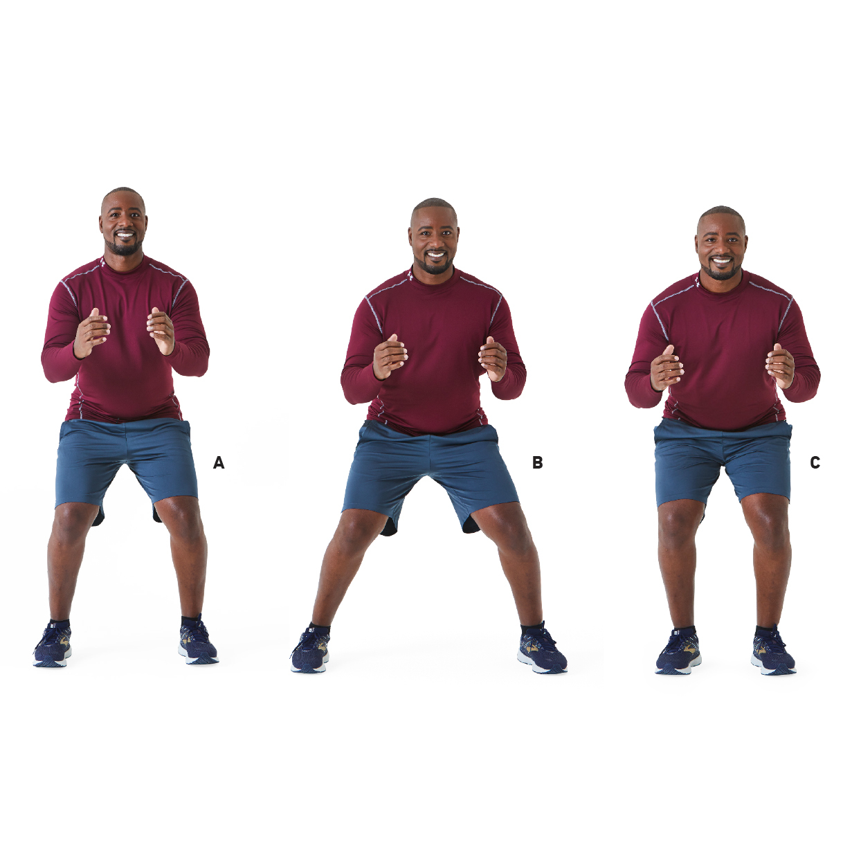 lateral shuffle exercise