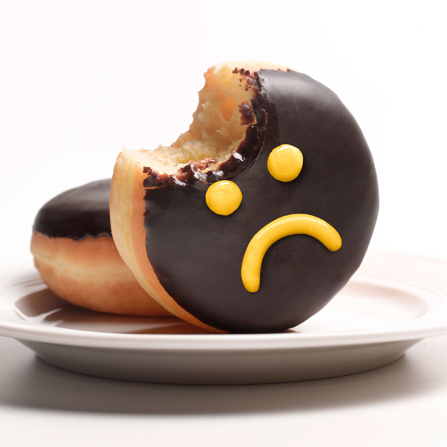 donuts with sad face