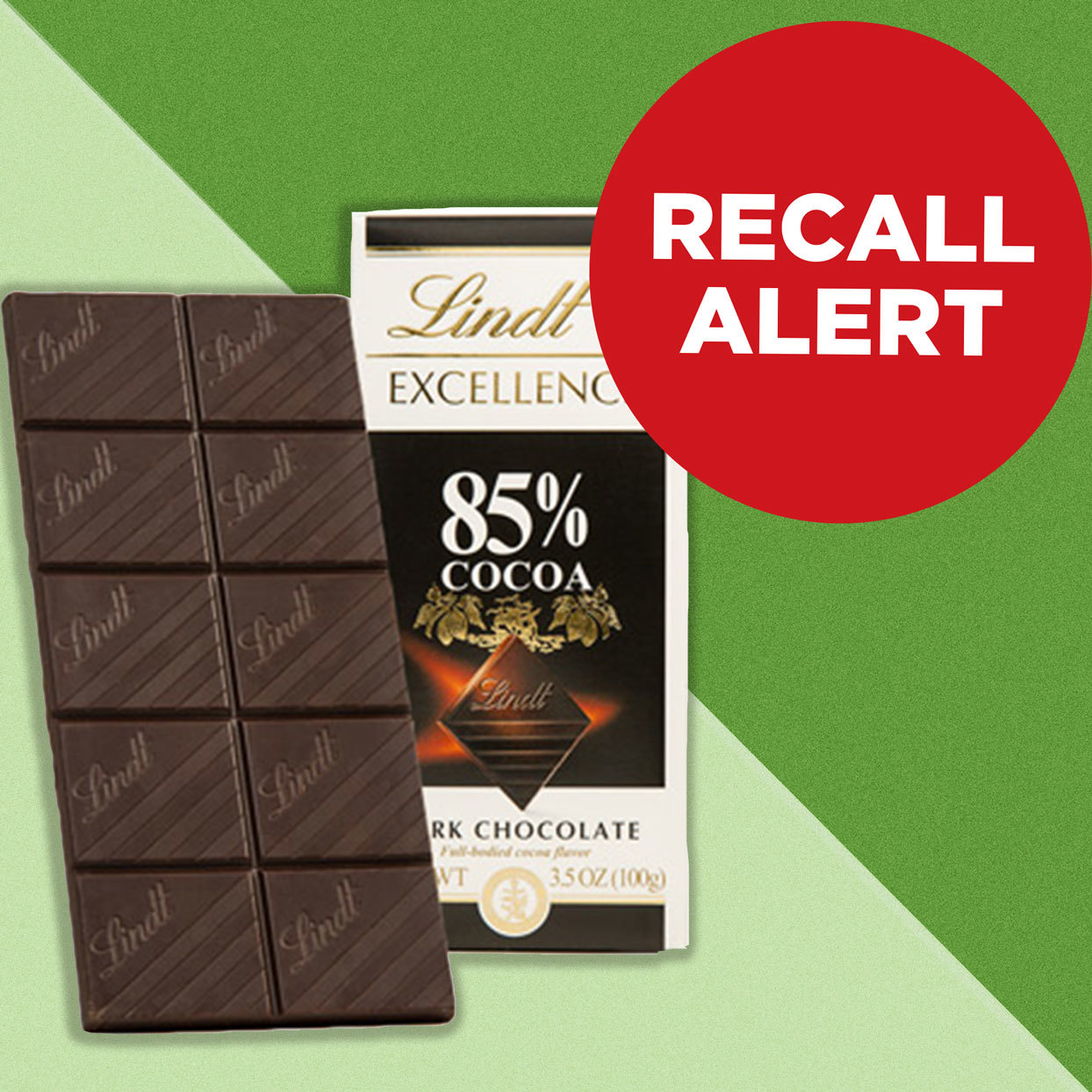 Lindt Chocolate Bar Recall