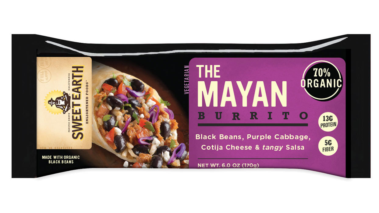 Sweet Earth The Mayan frozen burrito