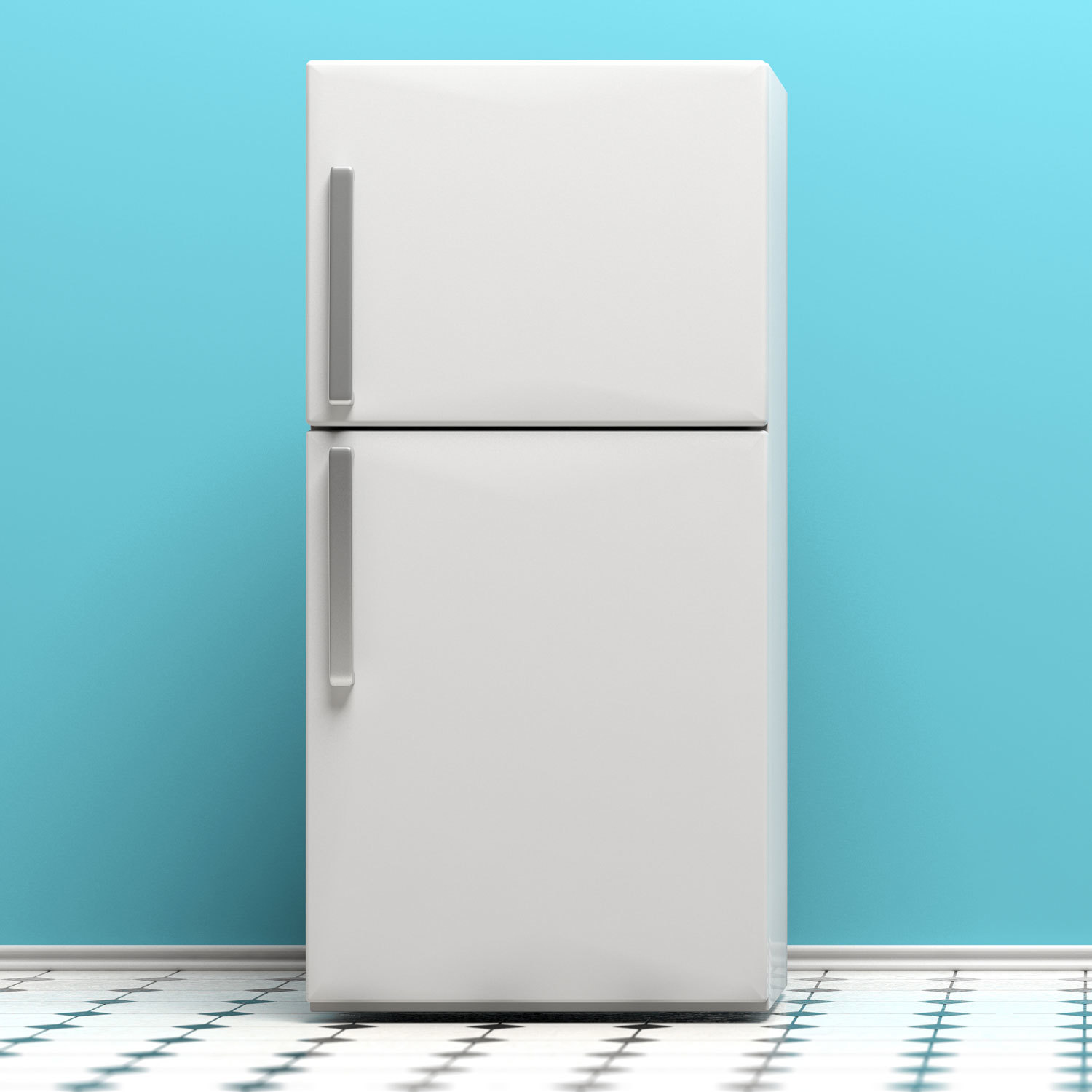 Photo of a refrigerator