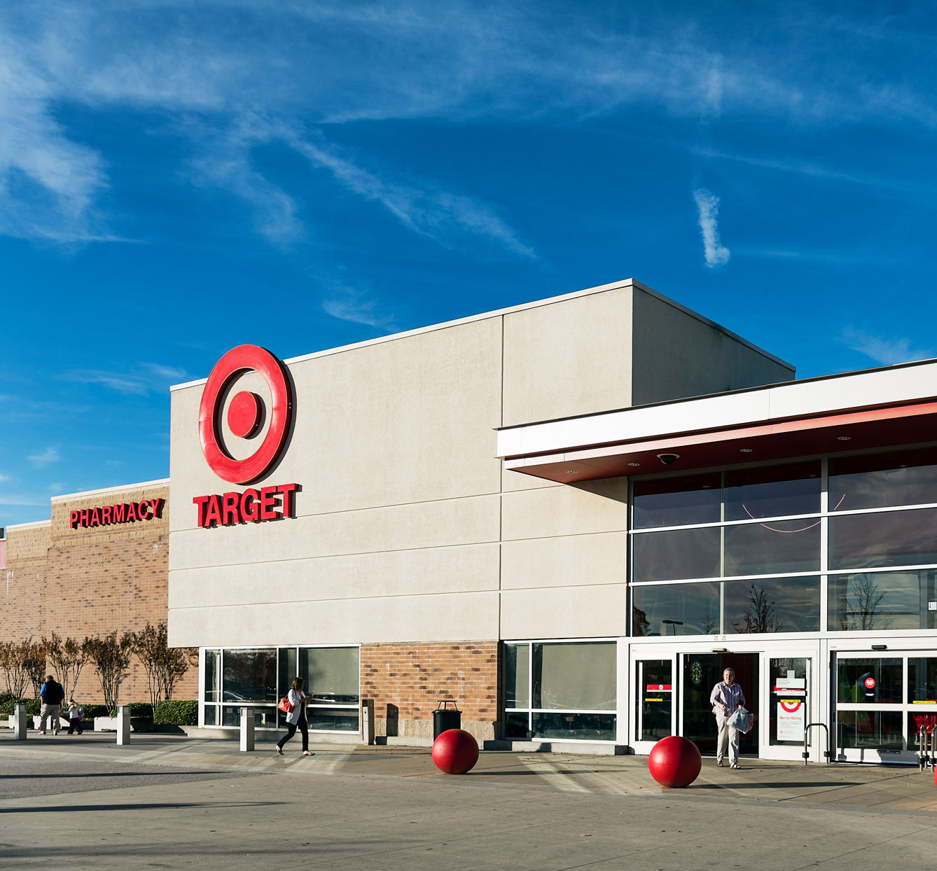 Target store-front