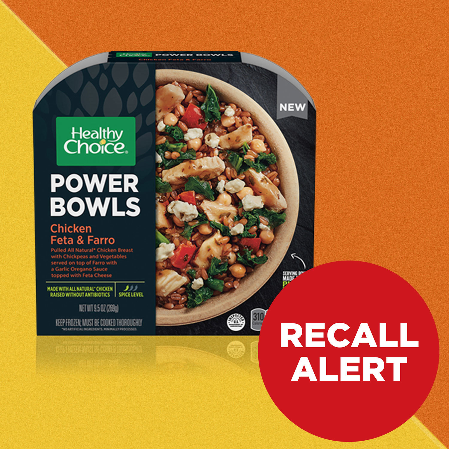 Photo of a Healthy Choice Power Bowl frozen meal