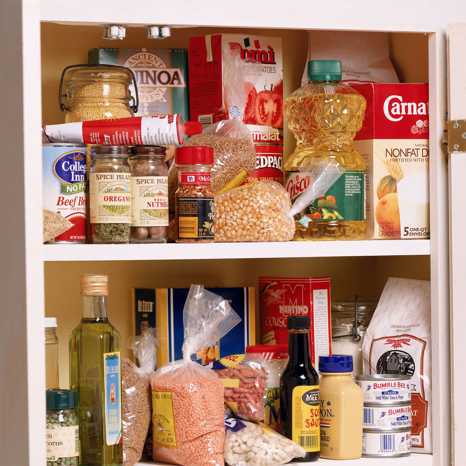 pantry items that are non-perishable