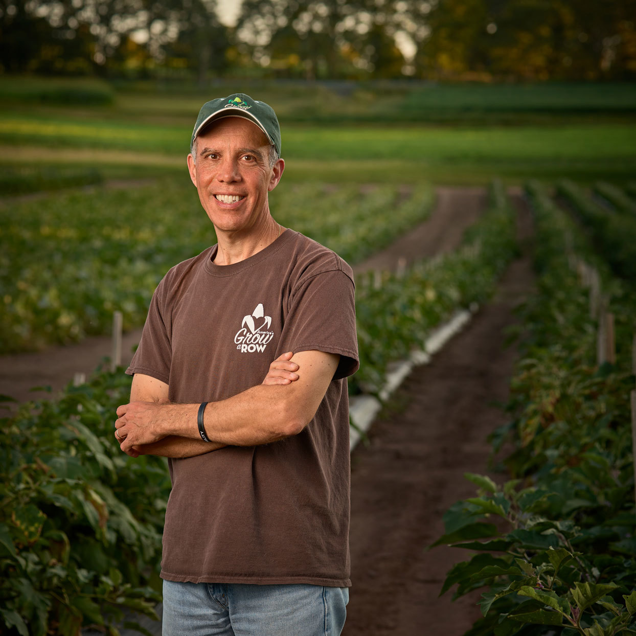How One Man Went From Backyard Gardener to Farming for Food Banks