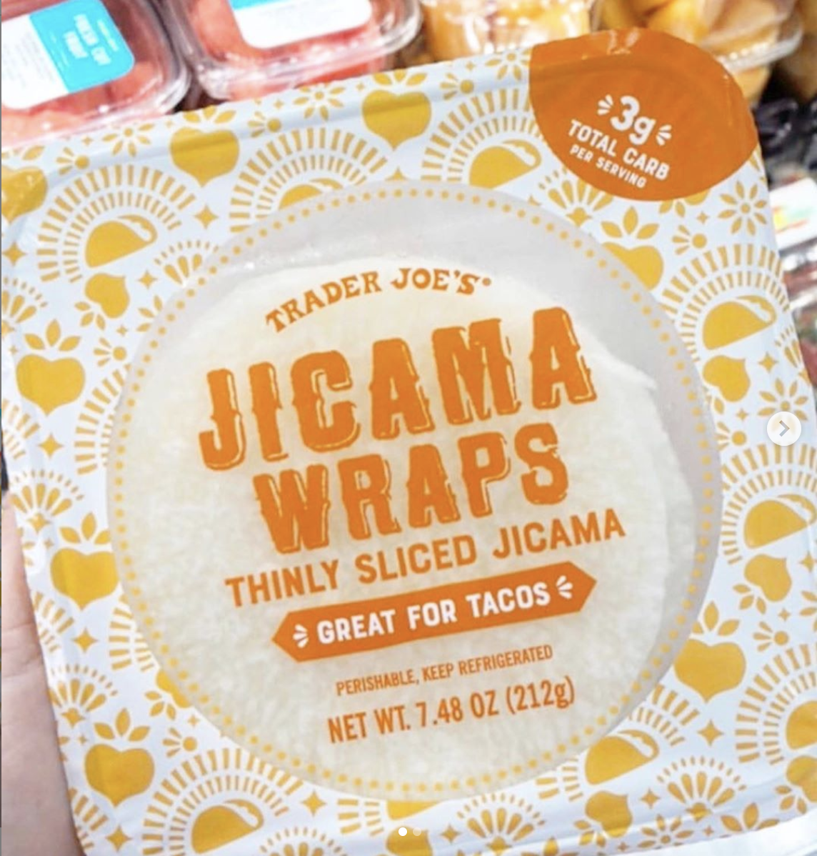 trader joe's jicama wraps