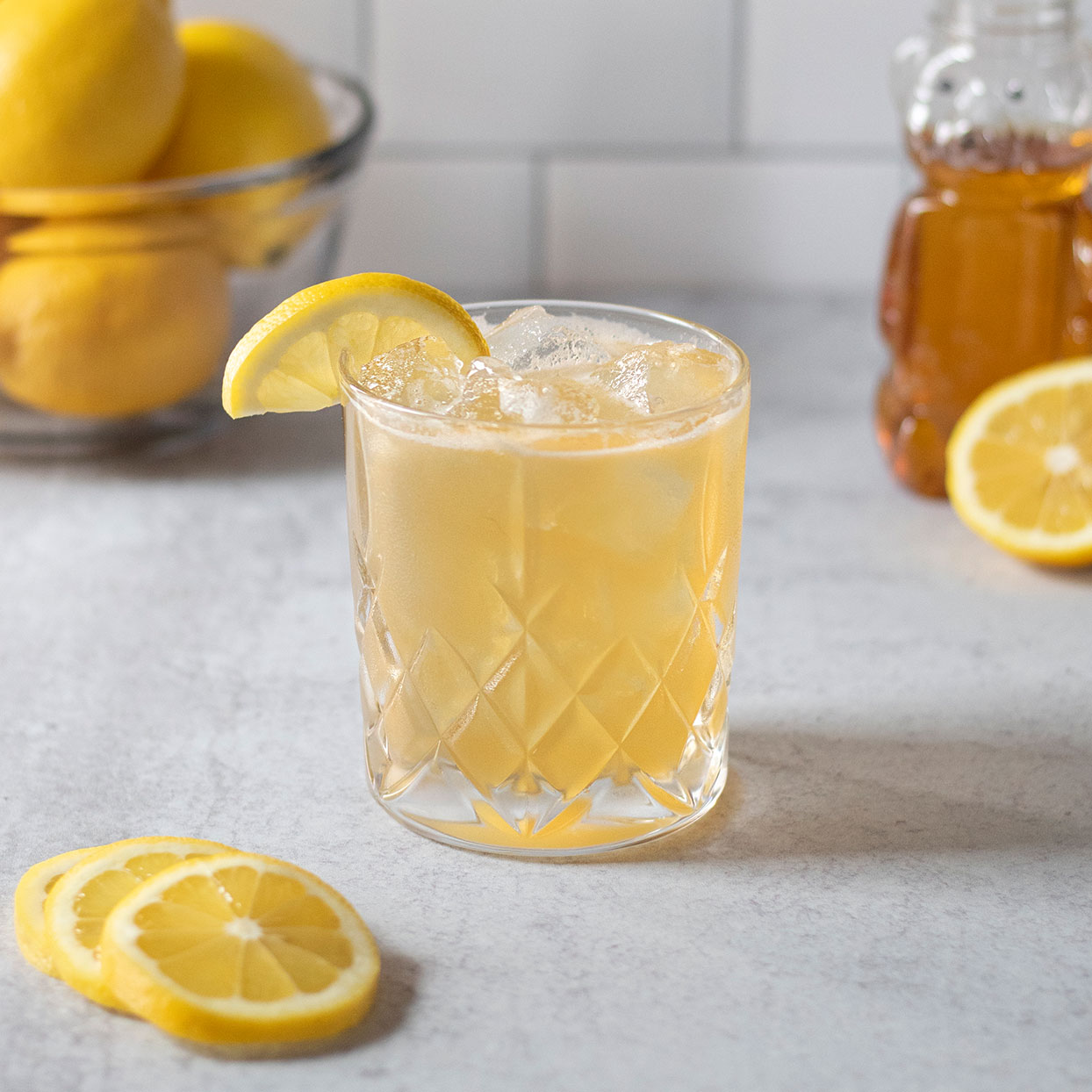 Bourbon & Honey Gold Rush Cocktail