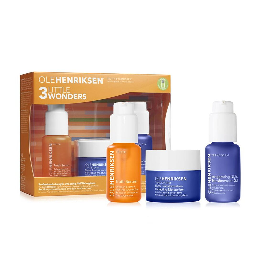 ole henriksen 3 little wonders face set