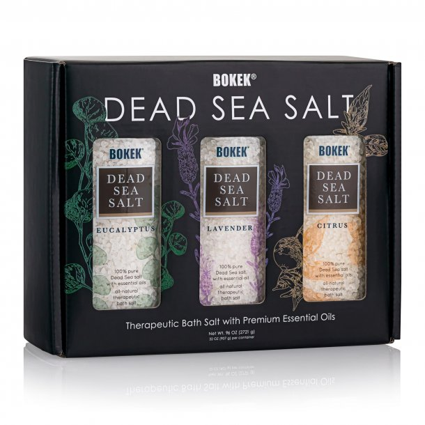 dead sea salt aromatherapy bath salts