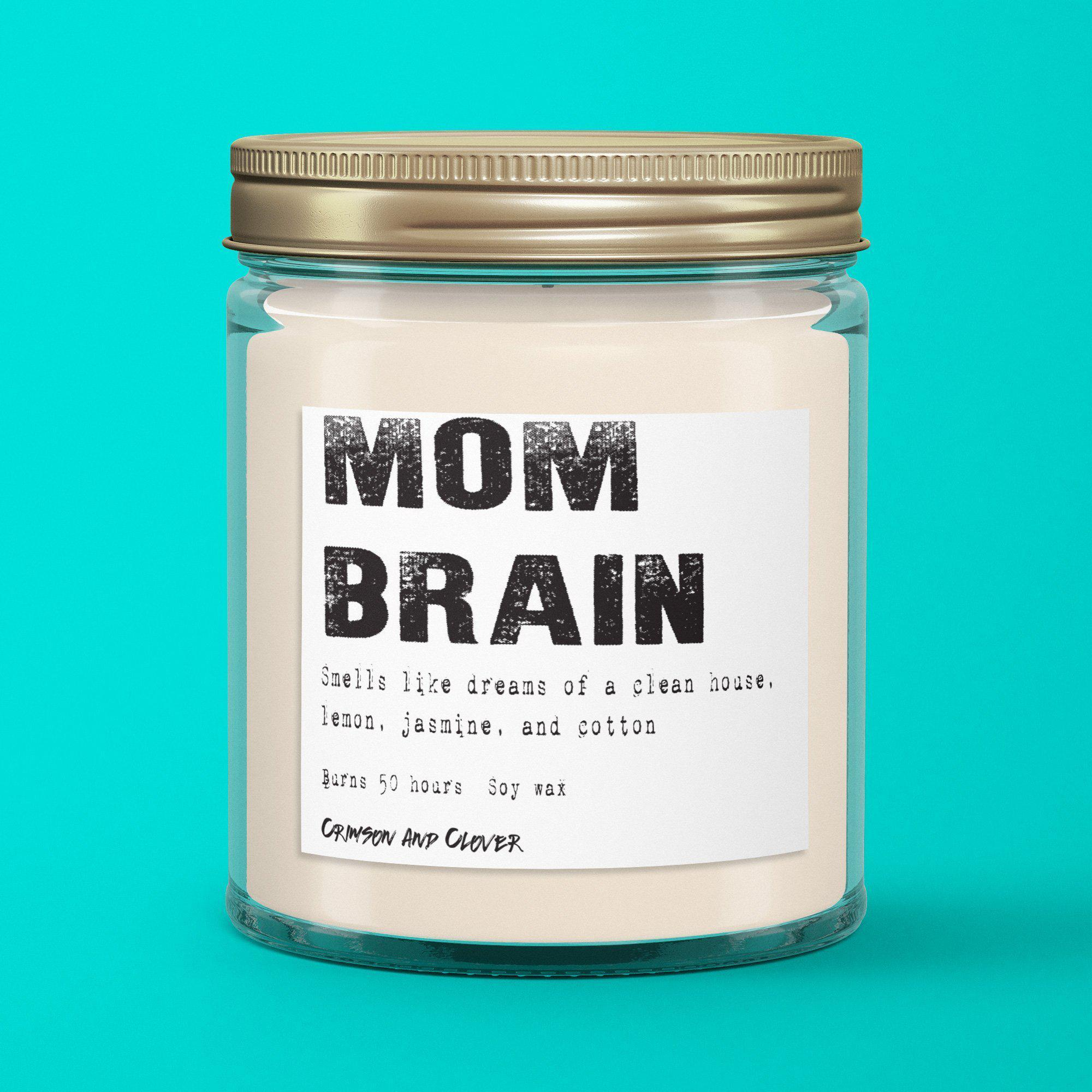 mom brain candle