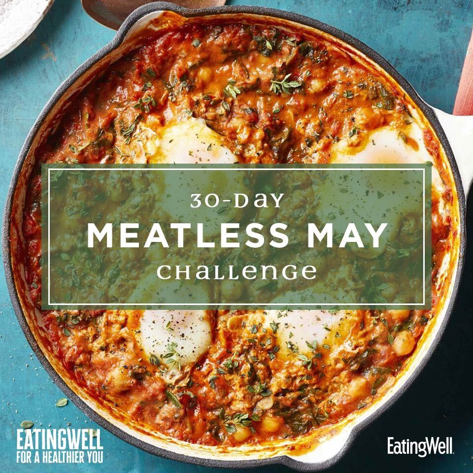 Meatless May 30-day Challenge