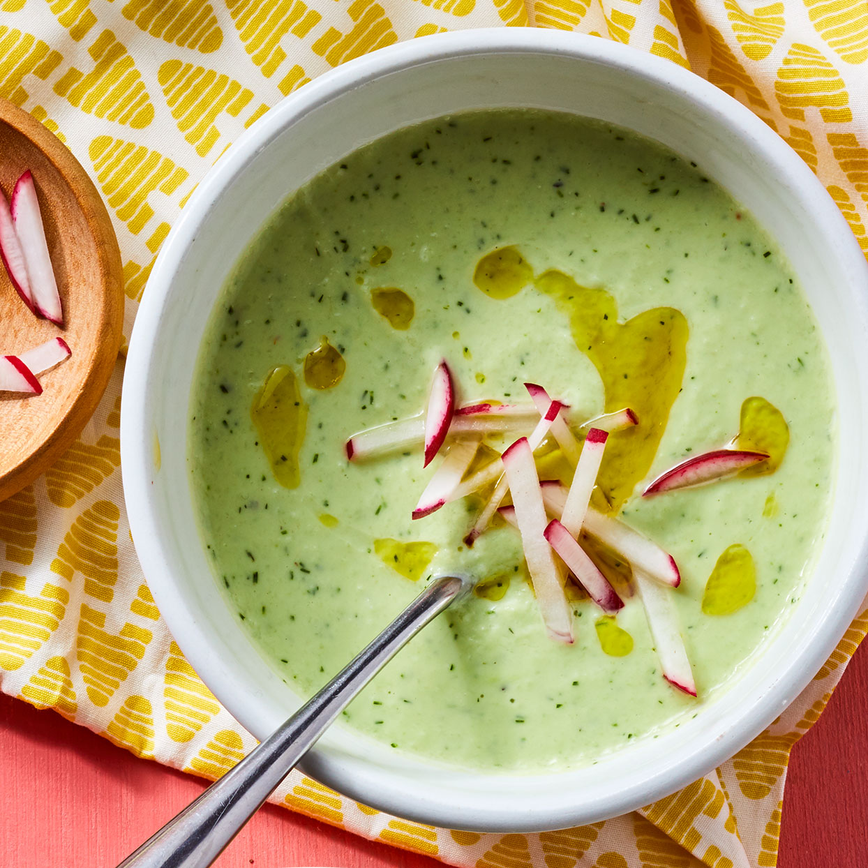 Creamy Cucumber Dill Soup