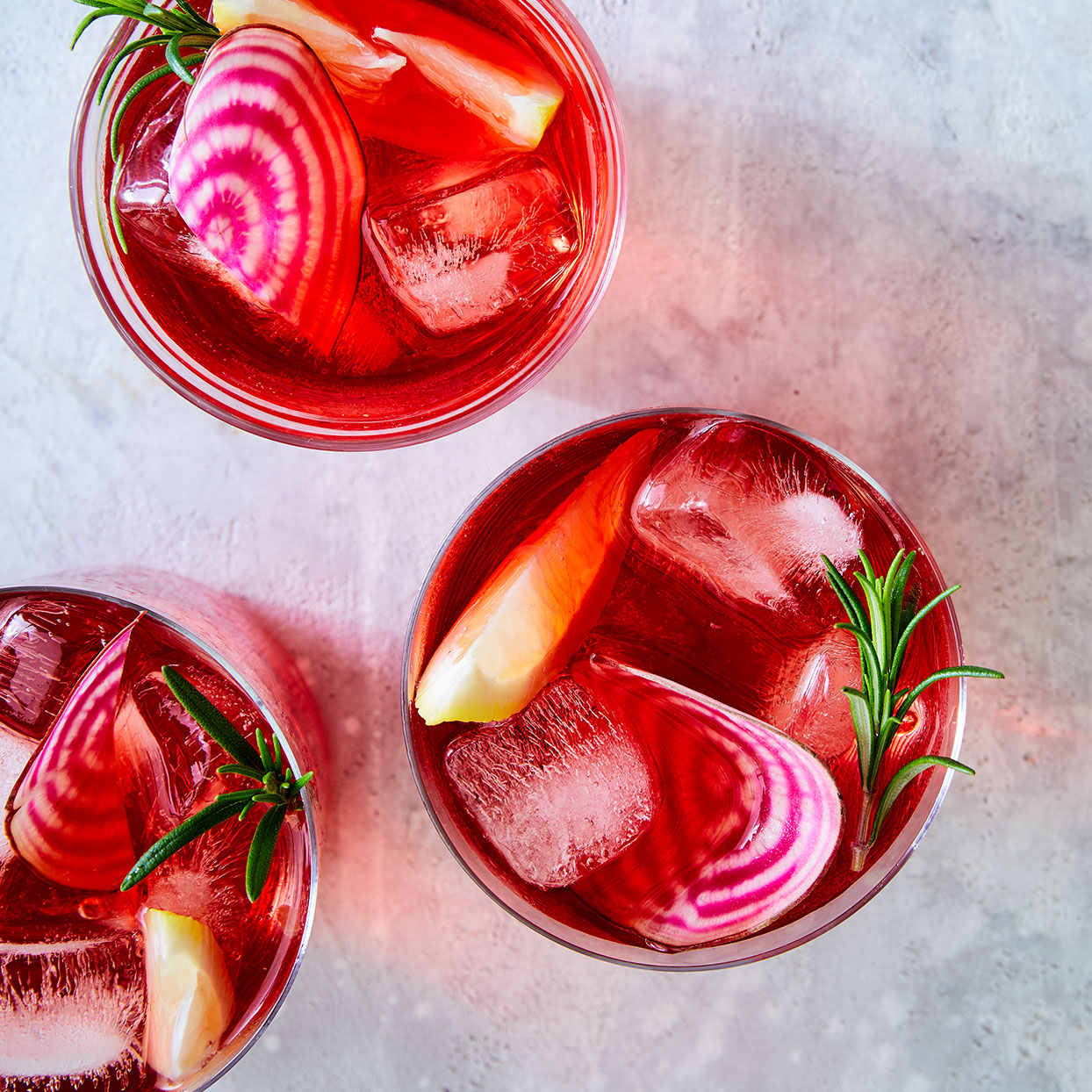Beet-Infused Gin & Tonic