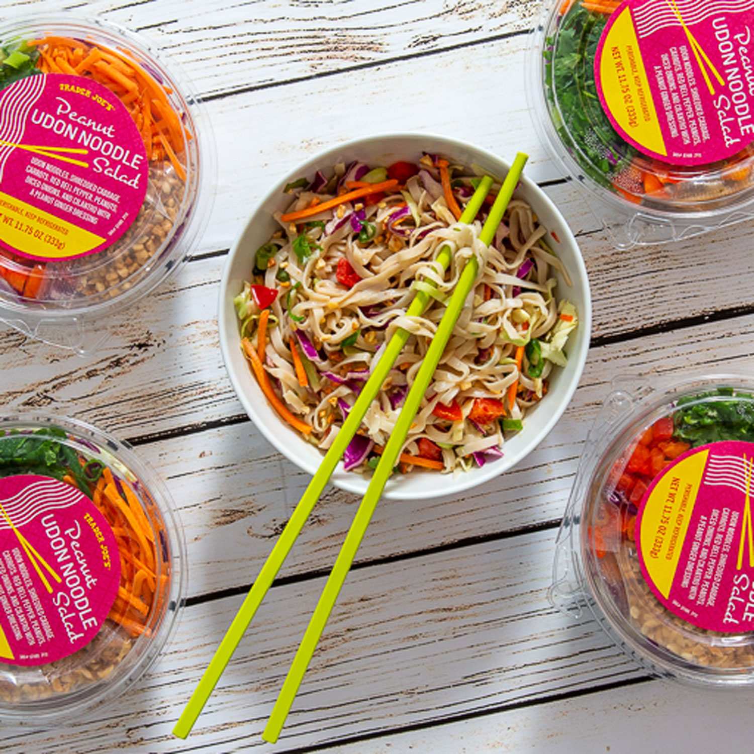 Trader Joe's Peanut Udon Noodle Salad Is Our New Favorite No-Cook Lunch