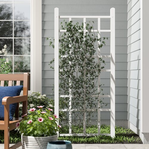Cottage Vinyl Lattice Panel Trellis