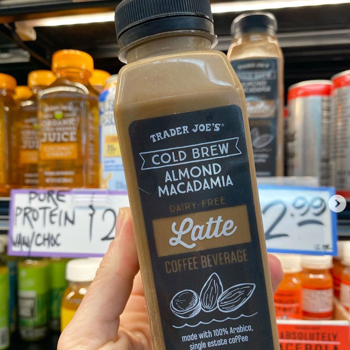 trader joes dairy free cold brew latte