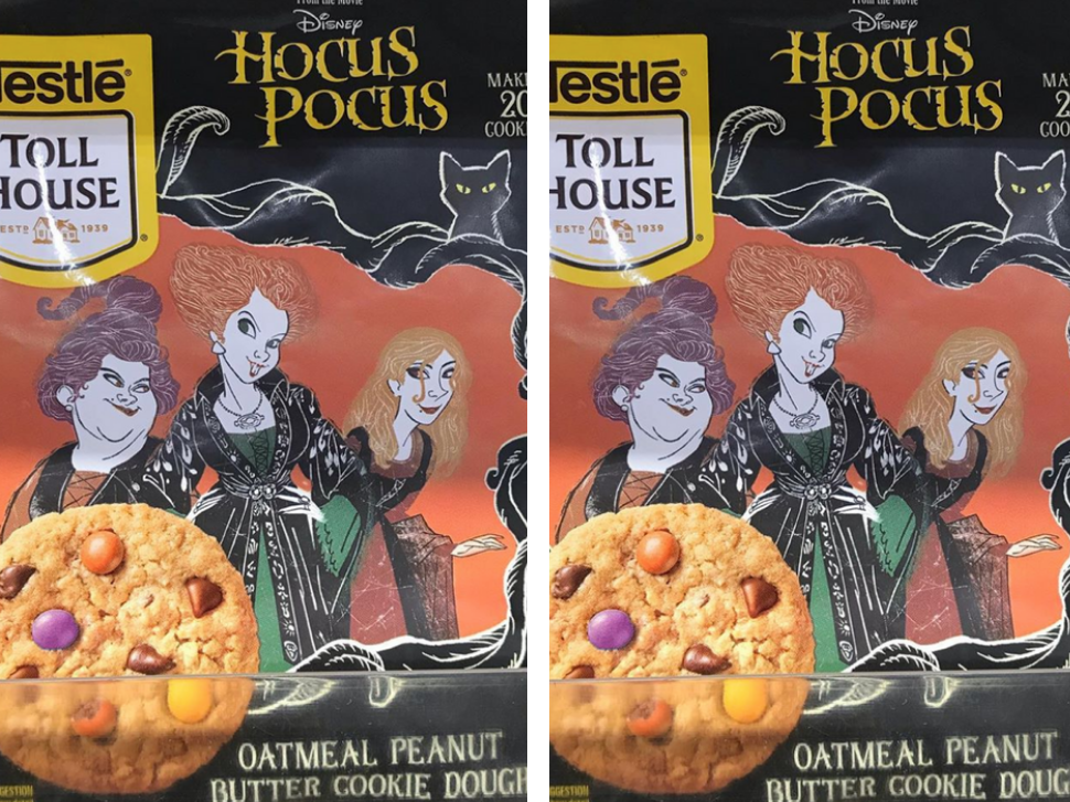 Package of Nestle Hocus Pocus cookie dough