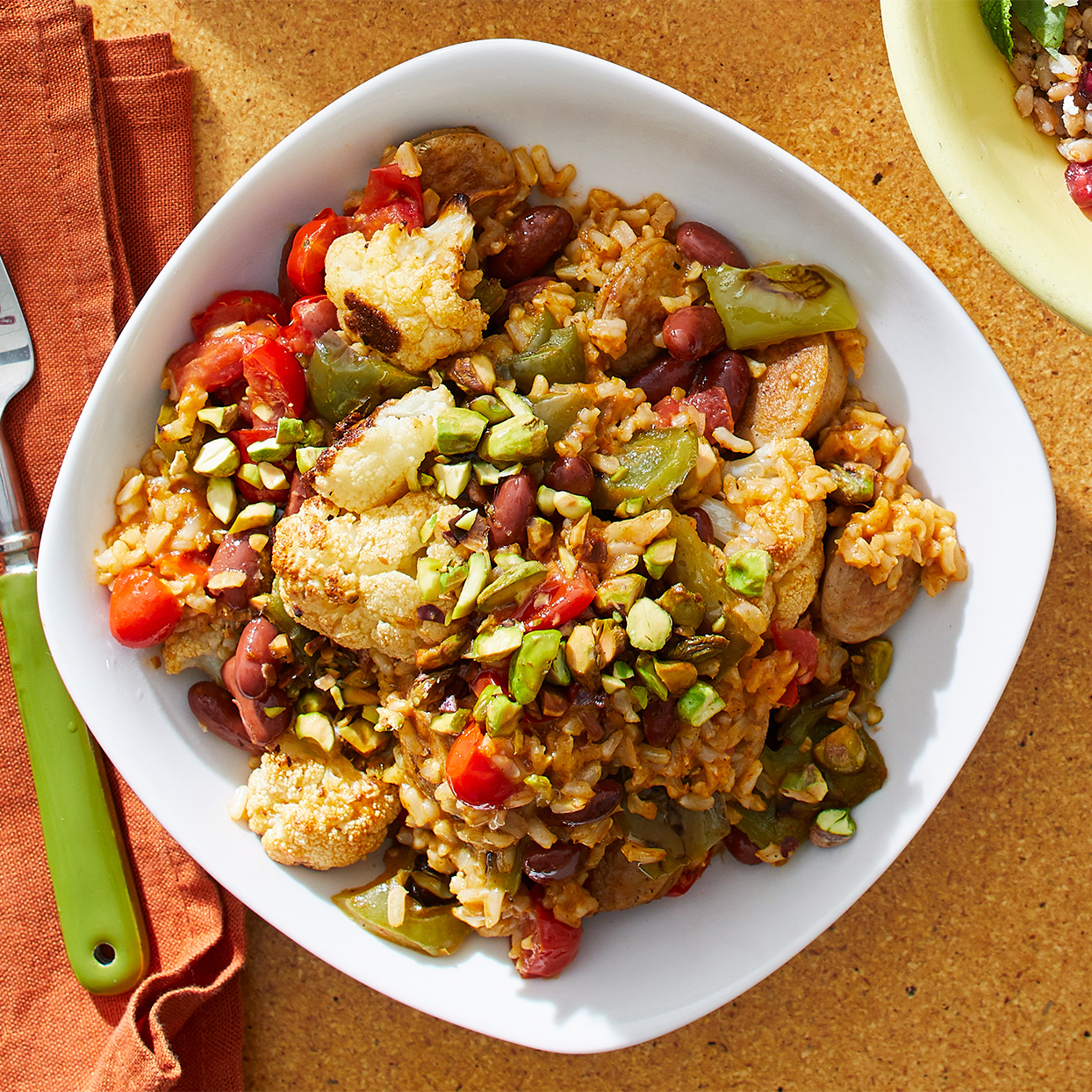 Red Beans & Rice with Vegetables