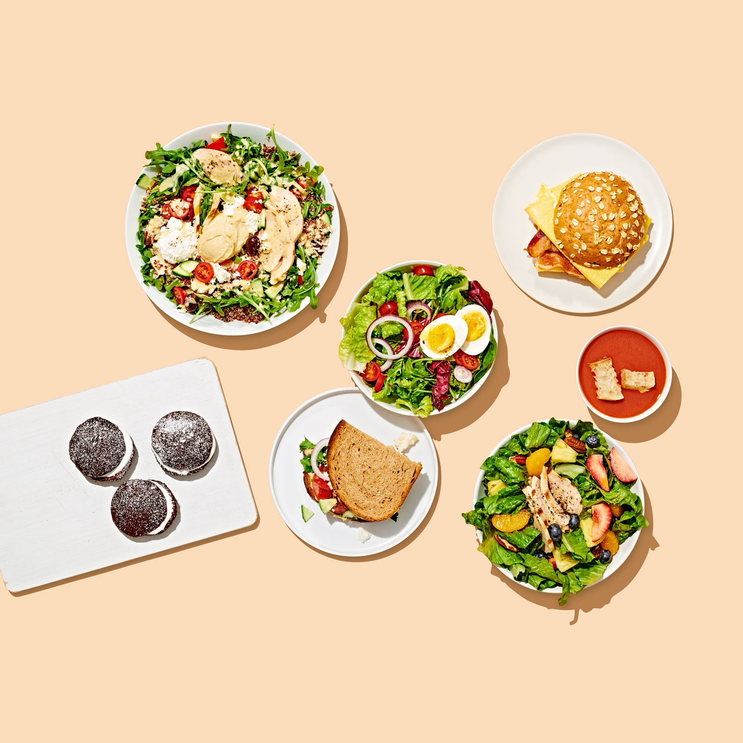 panera menu items