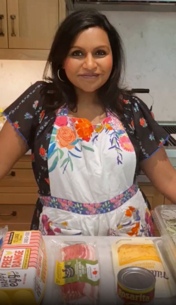 Mindy Kaling S Go To Breakfast Burrito Is Perfect For Meal Prep Eatingwell