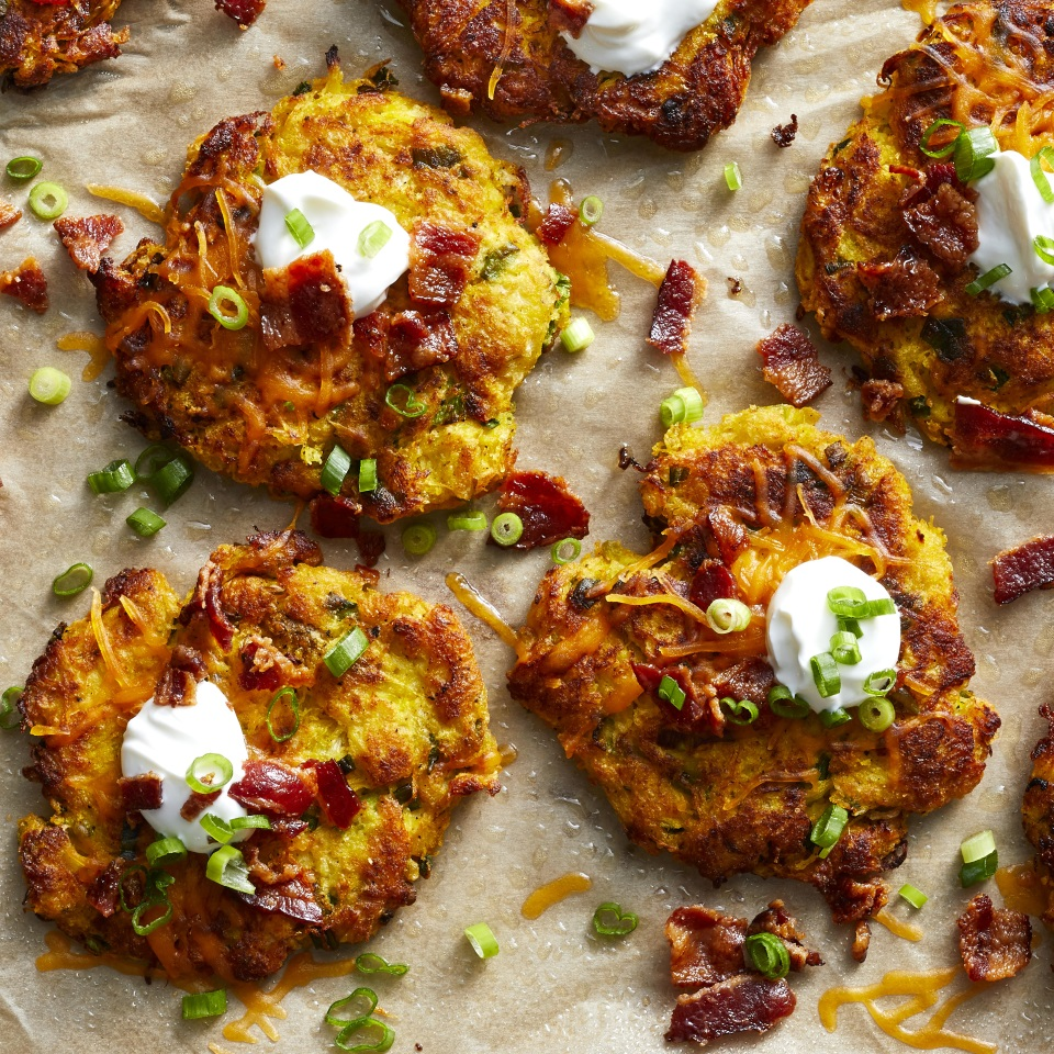 Baked Spaghetti Squash Fritters