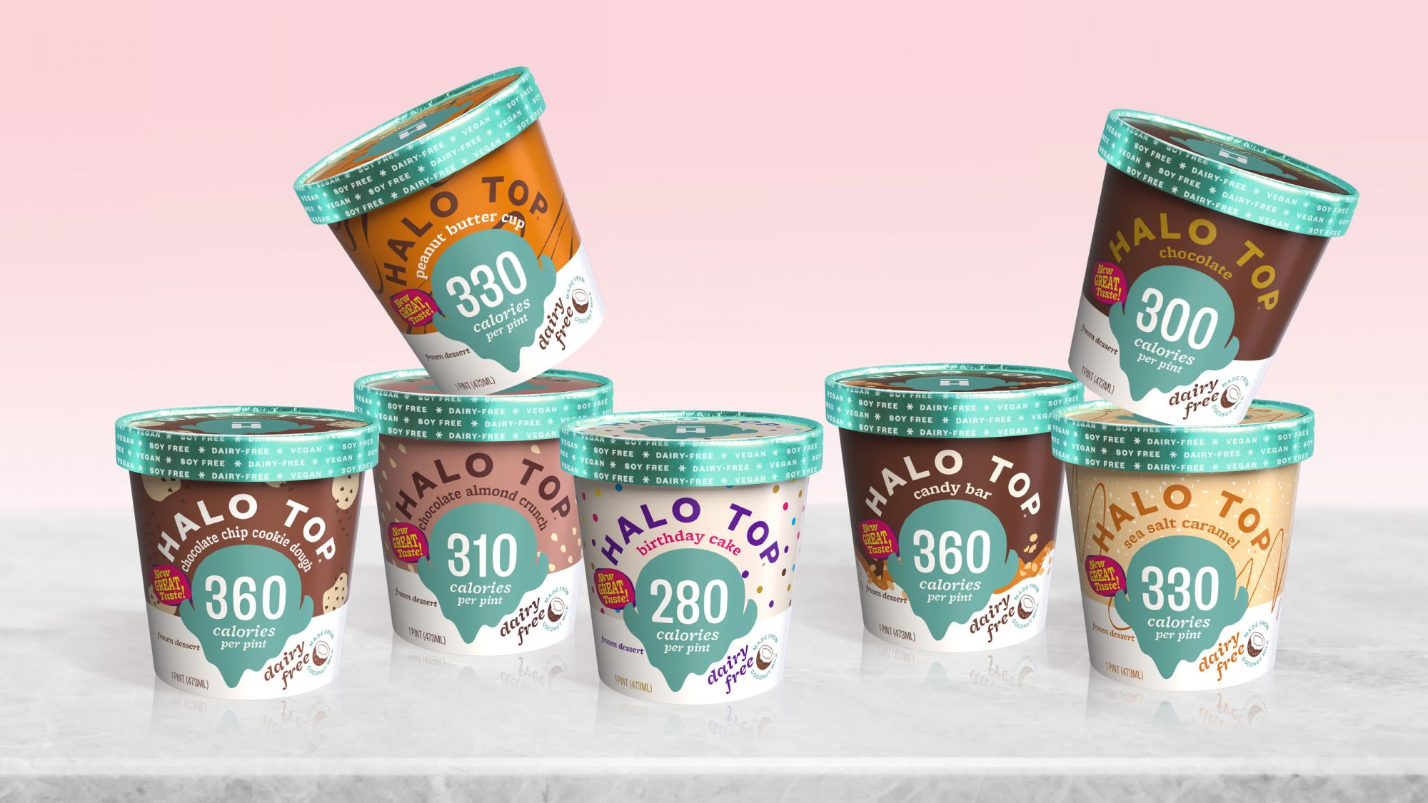 Halo Top Dairy Free Ice Cream